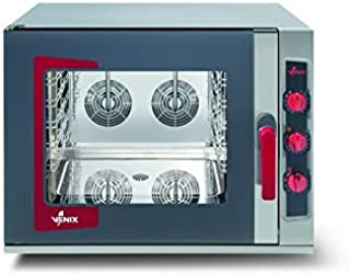 Horno mixto manual – 5 niveles GN 2/3 a 20 GN 1/1 – Venix – 5 GN 1/1 (530 x 325 mm)