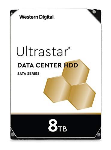 Western Digital 8TB Ultrastar DC HC320 SATA HDD - 7200 RPM Class, SATA 6 Gb/s, 256MB Cache, 3.5' - HUS728T8TALE6L4