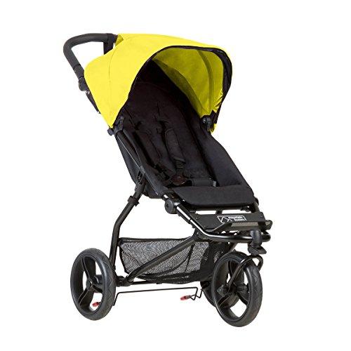 Mountain Buggy poussette Mini jaune