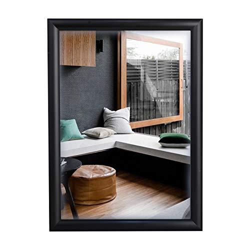 HELEN DECORATION - 21,5 x 27,9 cm - Marco de póster negro, marco de fotos, marco de certificado, marco a presión, marcos de exhibición - Montaje en pared para el hogar y la oficina