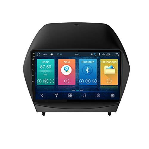 Lettore multimediale per Auto per Hyundai IX35 2010-2013 Android 8 9' IPS Double DIN Autoradio Audio Stereo Navigazione GPS WiFi Bluetooth MP5 Player,4 cores 4g+WiFi:2+32g