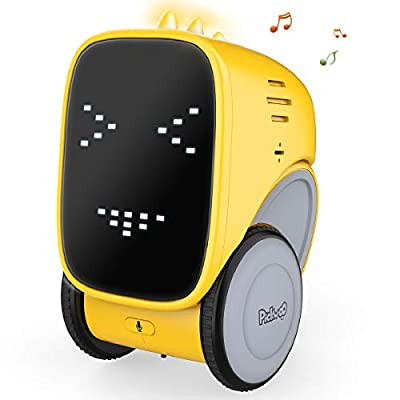 Kids Toys Robot for Kids Pickwoo Robot Toys Rechargable Smart Robot Talking Singing, Dancing, Repeating Voice Controlled and Touch Sensor Kids Gift Toys Robot for Little Boys and Girls