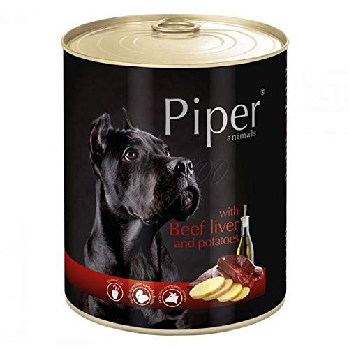 Piper with Beef Liver and Potatoes, 800 g tin of Dog, Piper, Canned Dogs, News