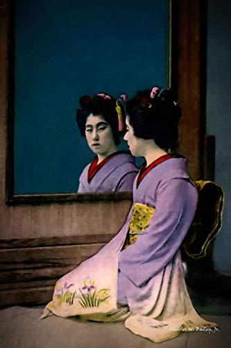 GTZXHNM Pintura por Números Kimono japonés de Mujer para Adultos y niños...