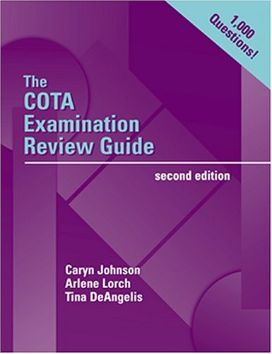 The COTA Examination Review Guide (Book with CD-ROM)