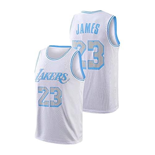 Longmen NBA Michael Jordan # 23 Camiseta de Baloncesto Chaleco Retro para Hombre Sudadera de Gimnasia Camiseta de Uniforme de Baloncesto de Verano,L5,S