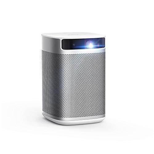 Beamer, XGIMI MOGO Pro, Mini Beamer 1080p Full HD, 300 ANSI Lm, 6W Harman/Kardon Lautsprecher, Tragbarer Projektor mit WIFI und Bluetooth, Ideal für Draußen