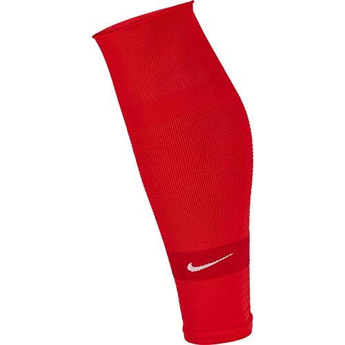 Nike Unisex NK STRK LEG SLEEVE-GFB Socks, Rot (university red/White), S/M