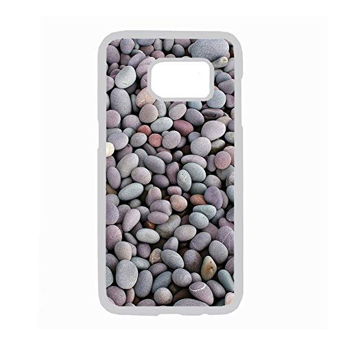 Use For S7 Samsung Pretty Girls Have Beautiful Cobblestone 2 Rigid Plastic Cases Choose Design 86-3