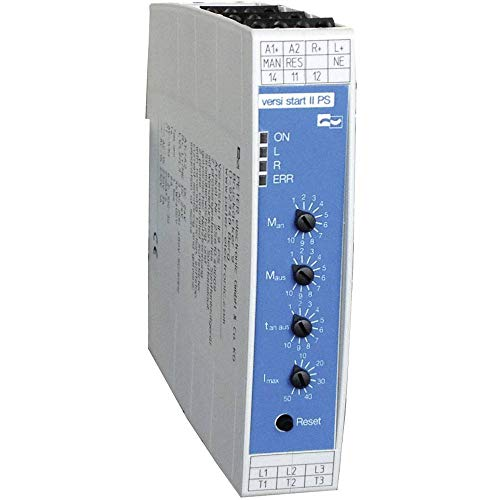 Peter Electronic VersiStart II 9 PS 2S610.40009 Sanftstarter Motorleistung bei 400 V 4 kW Motorleistung bei 230 V 1.5 k
