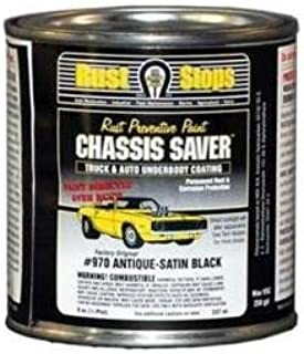 Magnet Paint Co Satin Black Chassis SAVER1/2PT (MPC-UCP970-16)