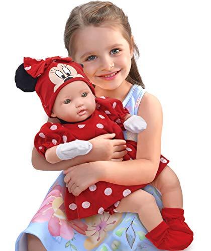Boneca Minnie - Classic Dolls - Recem Nascido Roma Jensen Boneca Branca