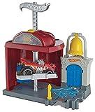 Hot Wheels Estación de fuego, pista de coches de juguete (Mattel FRH29)