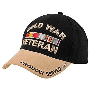 Cold War Veteran Black and Tan Cap