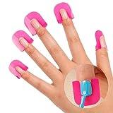 ihrkleid 26Stück Nail Art Werkzeuge verhindern der Überlauf des Nagellack des Rand der Nagel