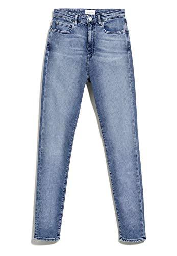 ARMEDANGELS INGAA X Stretch - Damen Jeans aus Bio-Baumwoll Mix 25/32 Sky Blue Denims / 5 Pockets Skinny Skinny Fit
