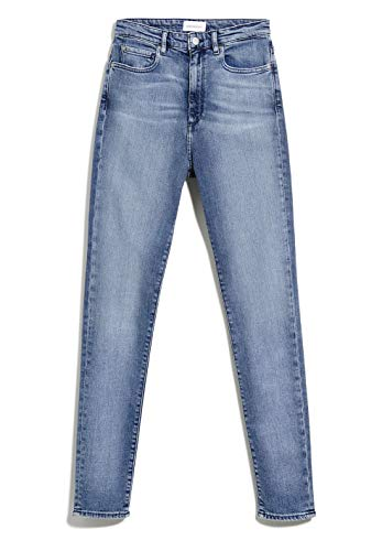 ARMEDANGELS INGAA X Stretch - Damen Jeans aus Bio-Baumwoll Mix 29/34 Sky Blue Denims / 5 Pockets Skinny Skinny Fit
