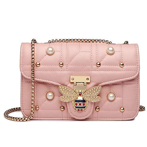 Beatfull Bee Shoulder Bag for Women, Elegant Handbag Crossbody Bag with Pearl