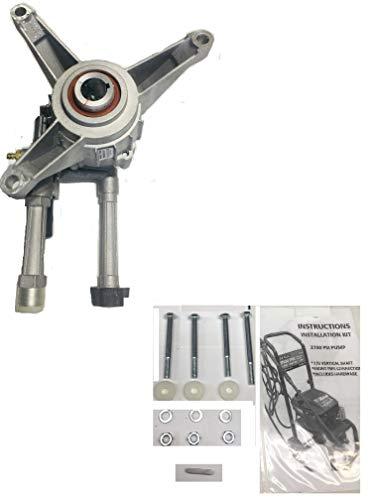 Troy-Bilt Pressure Washer Pump REPACEMENT for TROYBILT 2700 PSI Under Engine Front Pipes Model