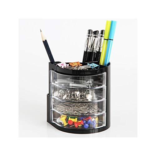 Suministros de oficina Caja de almacenamiento fija Porta bolígrafos Papelería Caja de almacenamiento Caja de almacenamiento de escritorio Porta bolígrafos Bolsa de almacenamiento de escritorio for el