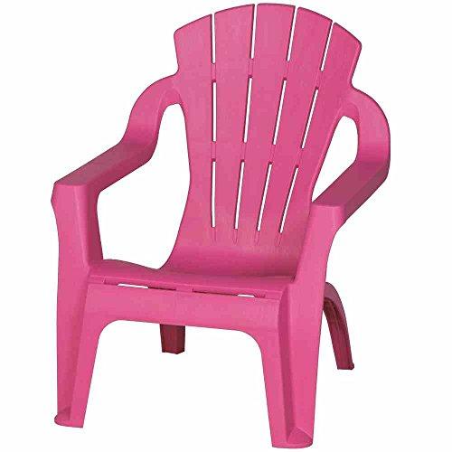 Progarden Mini-Selva Kinder-Deckchair, Kunststoff, rosa, 37 x 39.5 x 44.5 cm, 6157