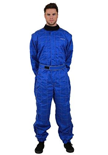 NERVE 1551020216_05 Tuta Race 450D Kart Completo, Blu, XL