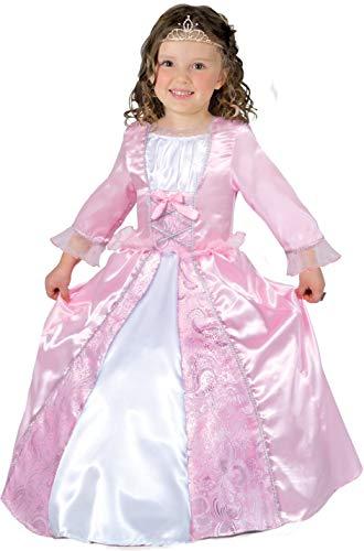 Ciao Dolce Principessina Costume Bambina Disfraces, Rosa, 4-5 Años para Niñas