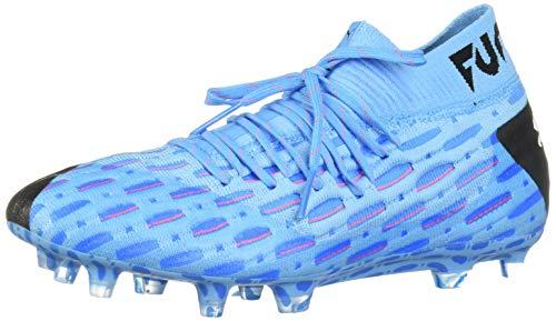 PUMA Mens Future 5.1 Netfit Firm Ground Artificial Grass Soccer Cleats - Blue - Size 11 D