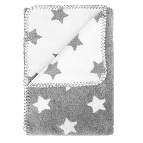 kids&me Babydecke aus flauschiger Bio Baumwolle - kuschelige Baumwolldecke (kbA) für gesunden Babyschlaf - Wärme & Geborgenheit TOG-Wert:1,8 – 100% Made in Germany - OEKO-TEX