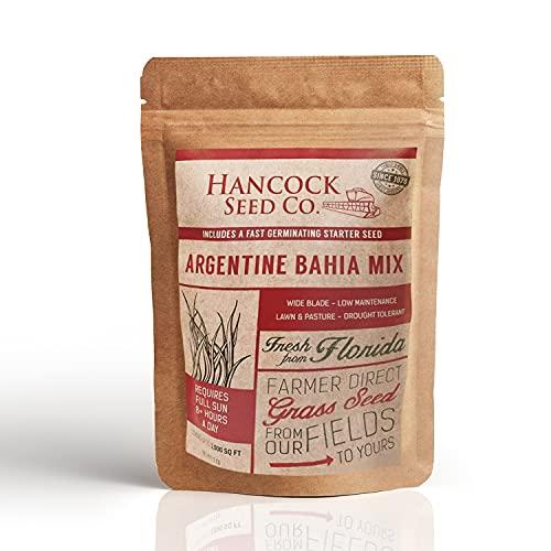 Hancock Seed Company Argentine Bahia Grass Seed - Coated - 25 lbs.
