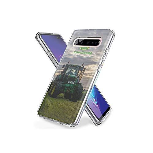 NR XtXBDZi Crystal Kompatibel mit Samsung Galaxy S10 Hülle, Transparent TPU Silikon Handyhülle Durchsichtige Schutzhülle Case für Samsung Galaxy S10#B-033
