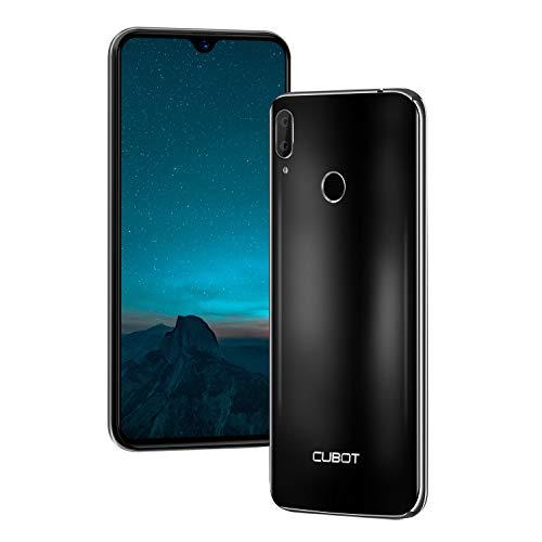 Cubot R15 (2019) Android 9.0 Dual SIM Smartphone ohne Vertrag, 6.26 Zoll Waterdrop-Notch HD Bildschirm mit 3000 mAh Akku, 2GB Ram+16GB interner Speicher, Hauptkamera 13MP+2MP / Frontkamera 8MP, Schwarz