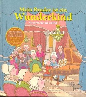 MEIN BRUDER IST EIN WUNDERKIND - arrangiert für Buch - mit CD [Noten / Sheetmusic] Komponist: MATHOT LEONIE + KOOPMANN TON