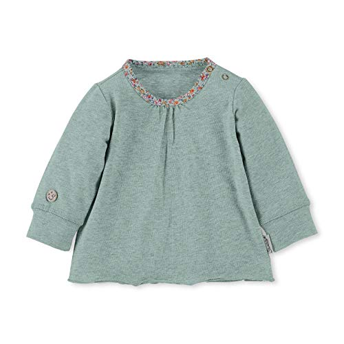 Sterntaler Baby Langarm-Shirt, Alter: 3-4 Monate, Größe: 56, Grün (Puder Green)