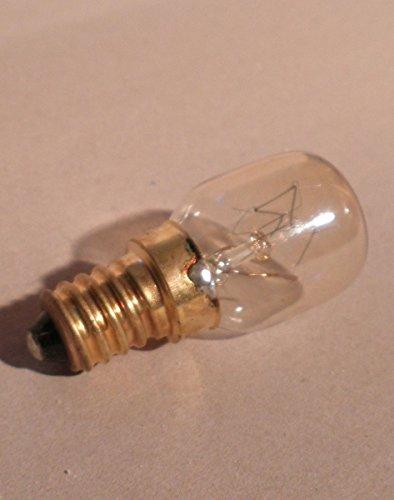 10 x Backofen Glühlampe/Glühbirne bis max. 300°C, 25 Watt klar, 230 Volt