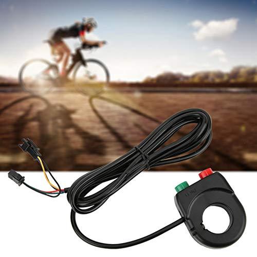 Shipenophy Interruptor de Motocicleta Interruptor de Manillar Ligero y Conveniente Interruptor de luz de Bicicleta Durable para Motocicleta