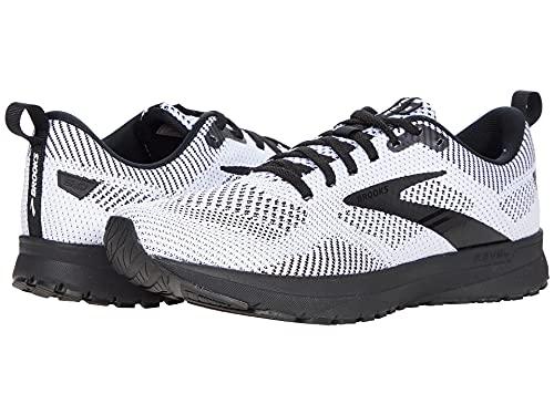 Brooks Revel 5 White/Black 9.5 D (M)