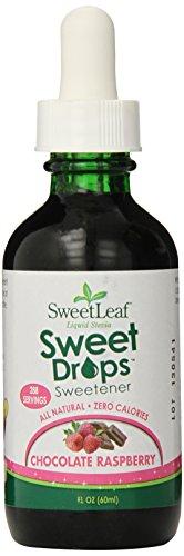 SweetLeaf Sweet Drops Liquid Stevia Sweetener, Chocolate Raspberry, 2 Ounce (Pack of 2)