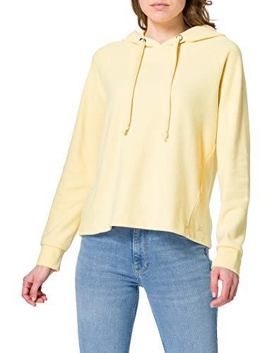TOM TAILOR Denim Damen 1024508 Basic Hoodie Sweatshirt, Honey Popcorn, M