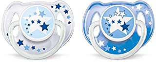 Philips Avent Night-Time Soothers 6-18m - SCF176/22 - (1 PACK, 2 SOOTHERS) (B002XLWKBQ) | Amazon price tracker / tracking, Amazon price history charts, Amazon price watches, Amazon price drop alerts
