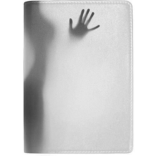 Diffuse Sexy Woman Silhouette Hände blockieren Print Passinhabers Cover Case Reisegepäck Passport Wallet Kartenhalter