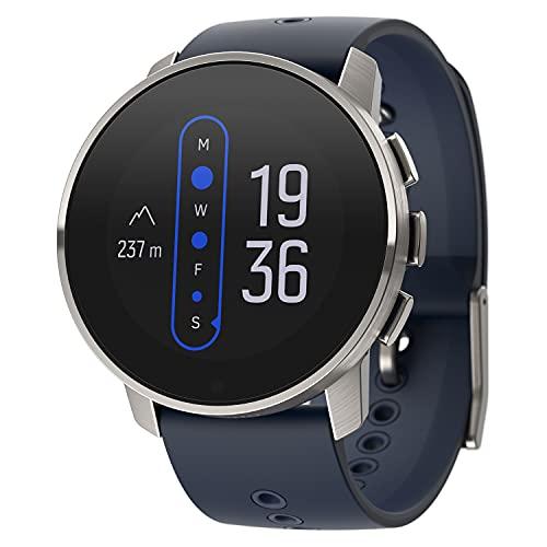 Suunto 9 Peak Watch, Unisex-Adult, Granite Blue Titanium, One Size