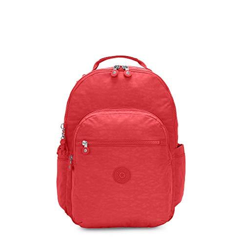 Kipling Seoul Large 15' Laptop Backpack Coral Fun