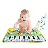 SOULONG Tappeto Musicale Bambini, Tappetino con Pianoforte per Bambini, Animali Moquette Musicale Mat per Bambini Tocca la Tastiera Giocattoli Educativi