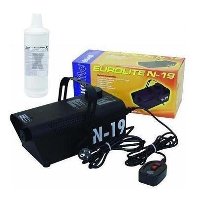 Eurolite N-19 Nebelmaschine schwarz + 1L