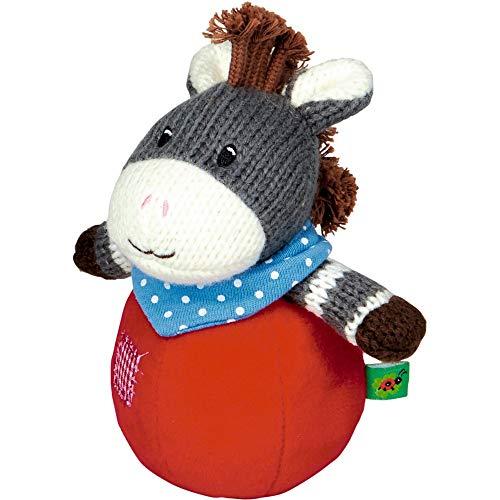 Die Spiegelburg 15281 Steh-auf-Esel mit Glockenspiel BabyGlück