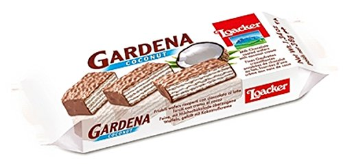 Wafer al Cioccolato Gardena Coconut 38 gr. - Loacker