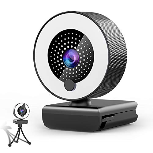 Streaming Webcam with Microphone & Ring ...