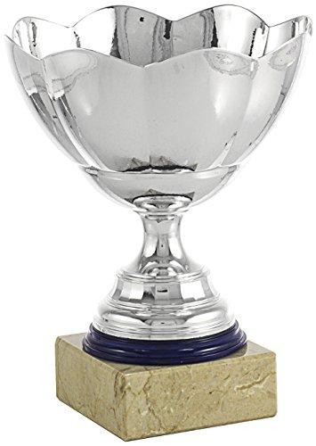 Art-Trophies TP191-7 Trofeo Ensaladera Flor, Plata, 12 cm