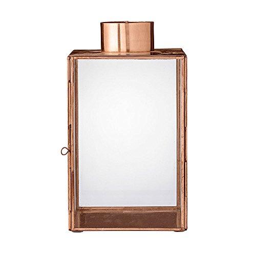 Bloomingville Laterne, Copper Finish W14xL14xH24 cm, Top 6 cm